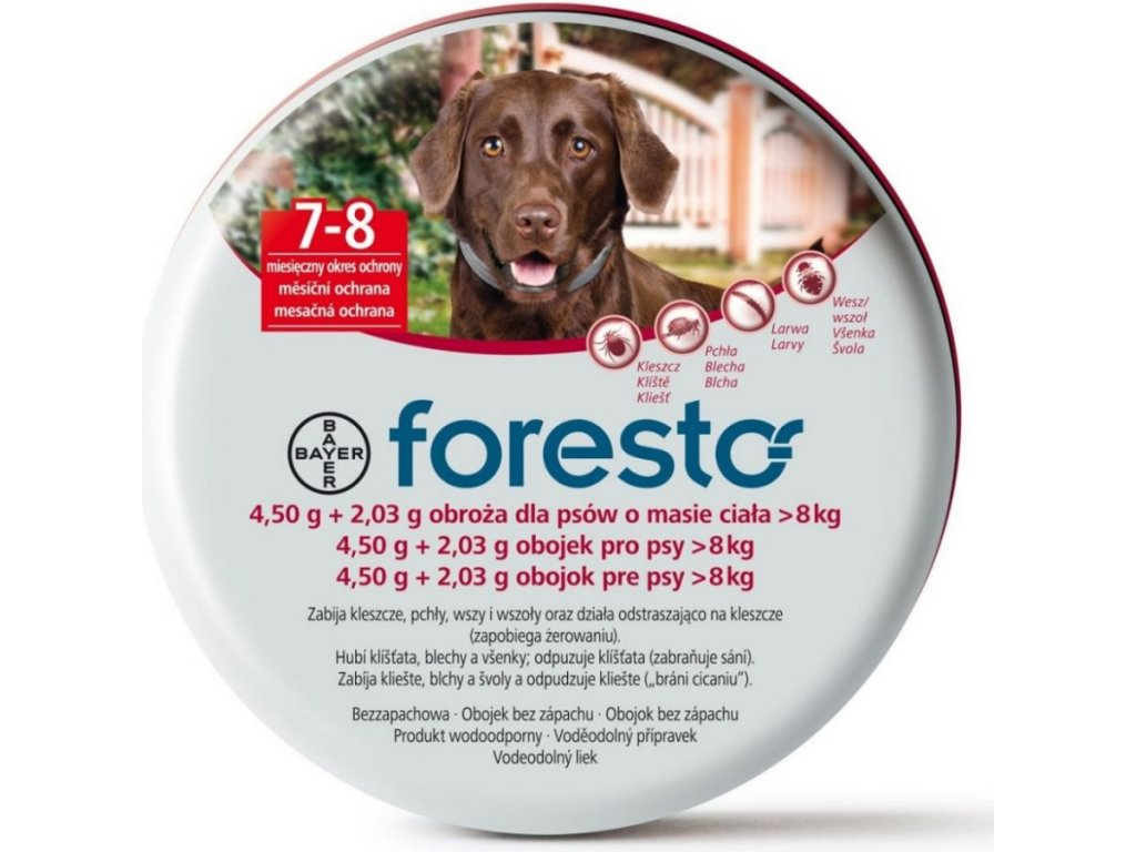 Bayer Foresto obojek pro psy 70 cm