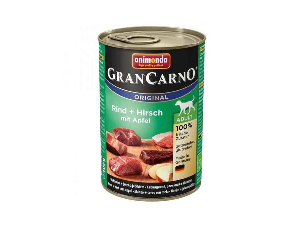 Animonda Grancarno Adult jelení maso + jablka 400g