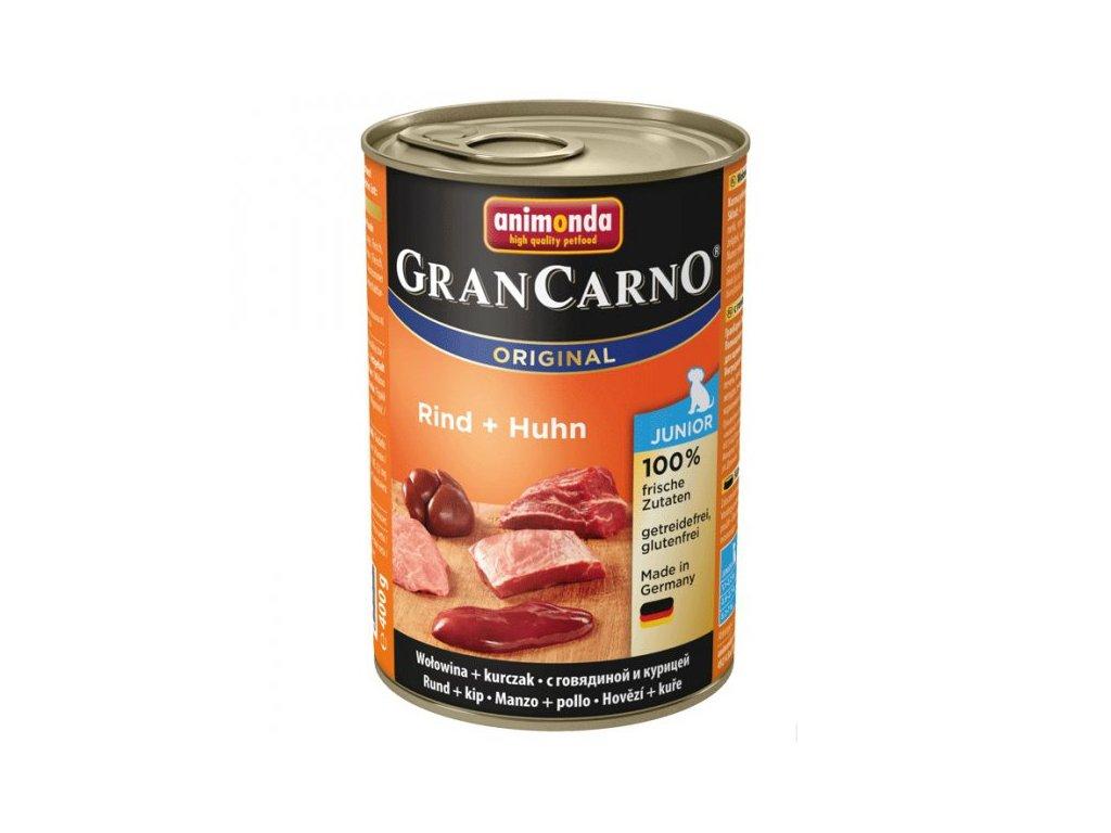 Animonda GranCarno Junior hovězí + kuře 400g