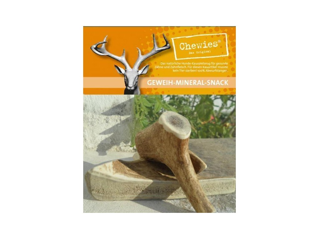 Paroží jelení Chewies Geweih - Snack - L