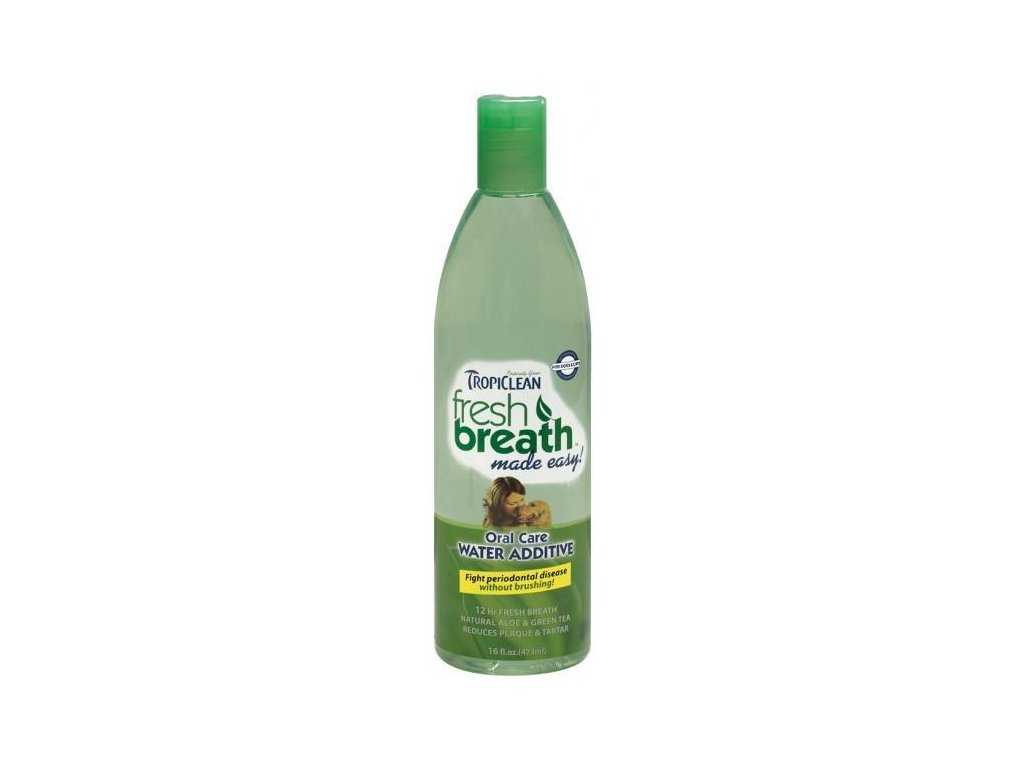 Tropiclean - Oral care Water Additive - pro psy - 473 ml