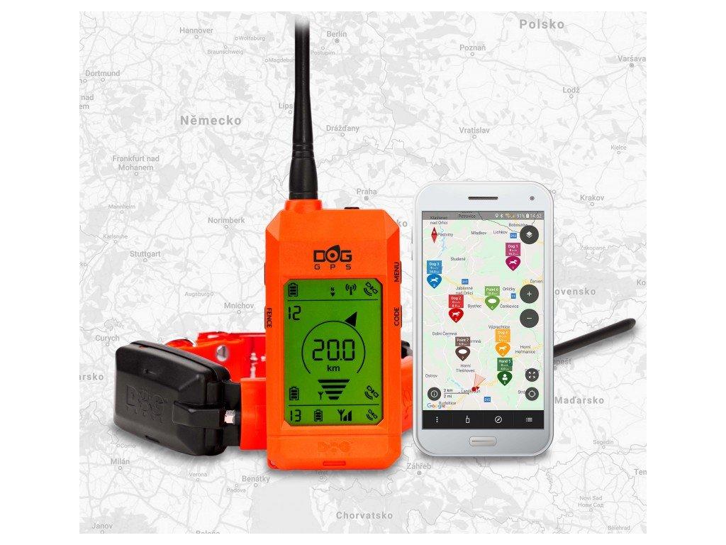 DOGTrace GPS X30 - bez výcvikového modulu