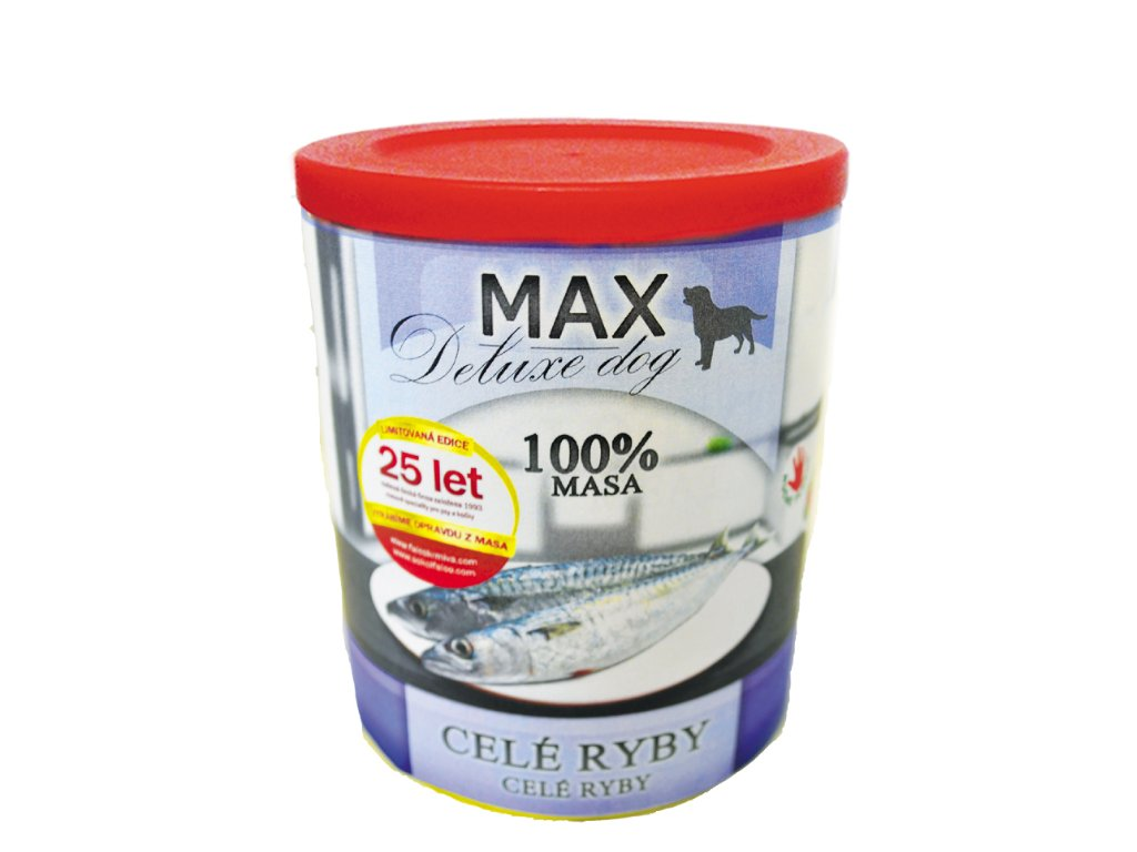 MAX deluxe CELÉ RYBY 800 g