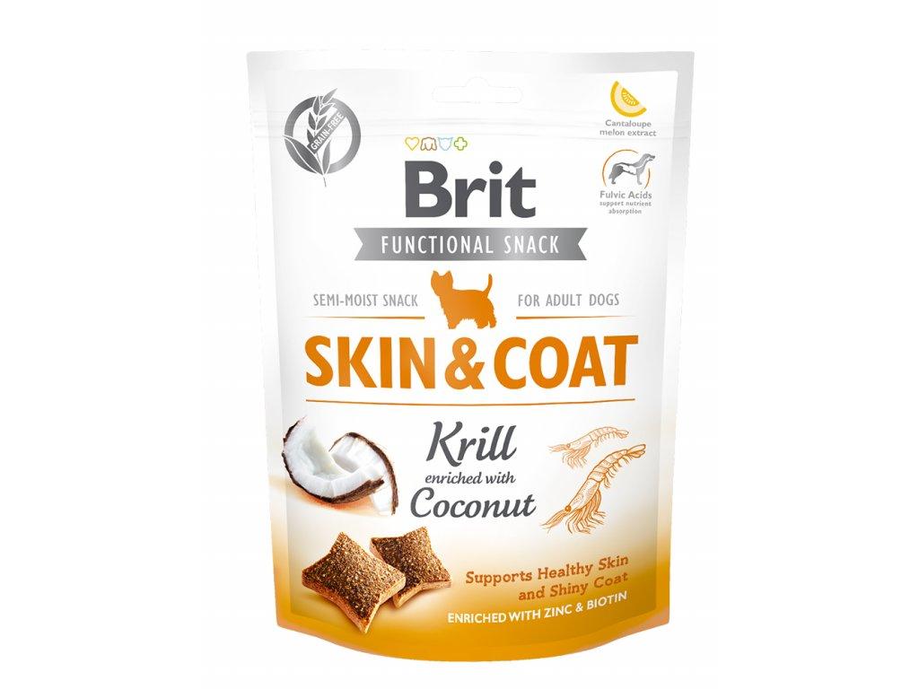Brit Care Dog Brit Care Dog Functional Snack Skin&Coat Krill 150 g