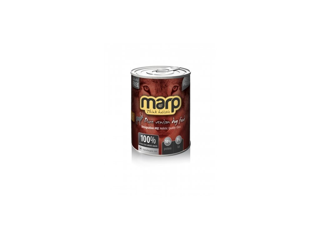 Marp Holistic - Pure Venison Dog Can Food 800 g