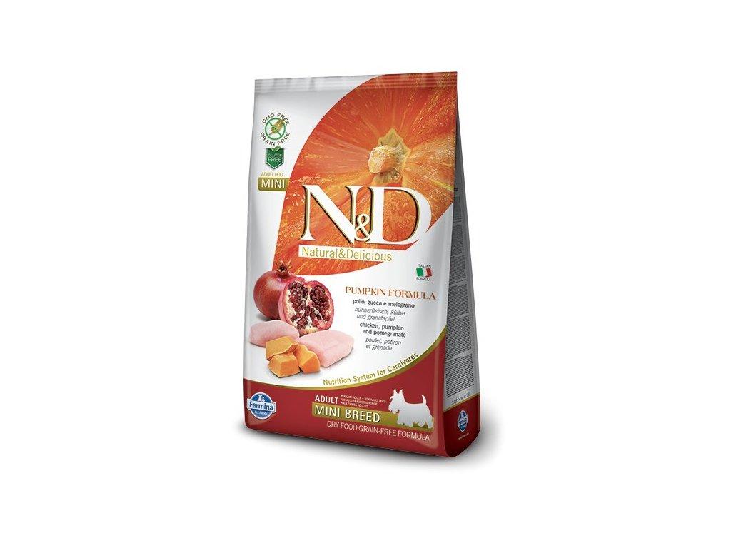 N&D GF Pumpkin Adult Mini Chicken Pomegranate