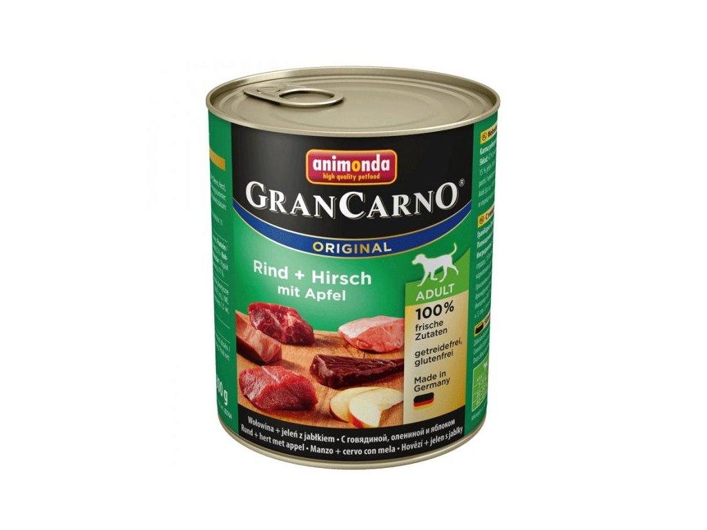 Animonda Grancarno Adult Jelení maso + Jablka 800g