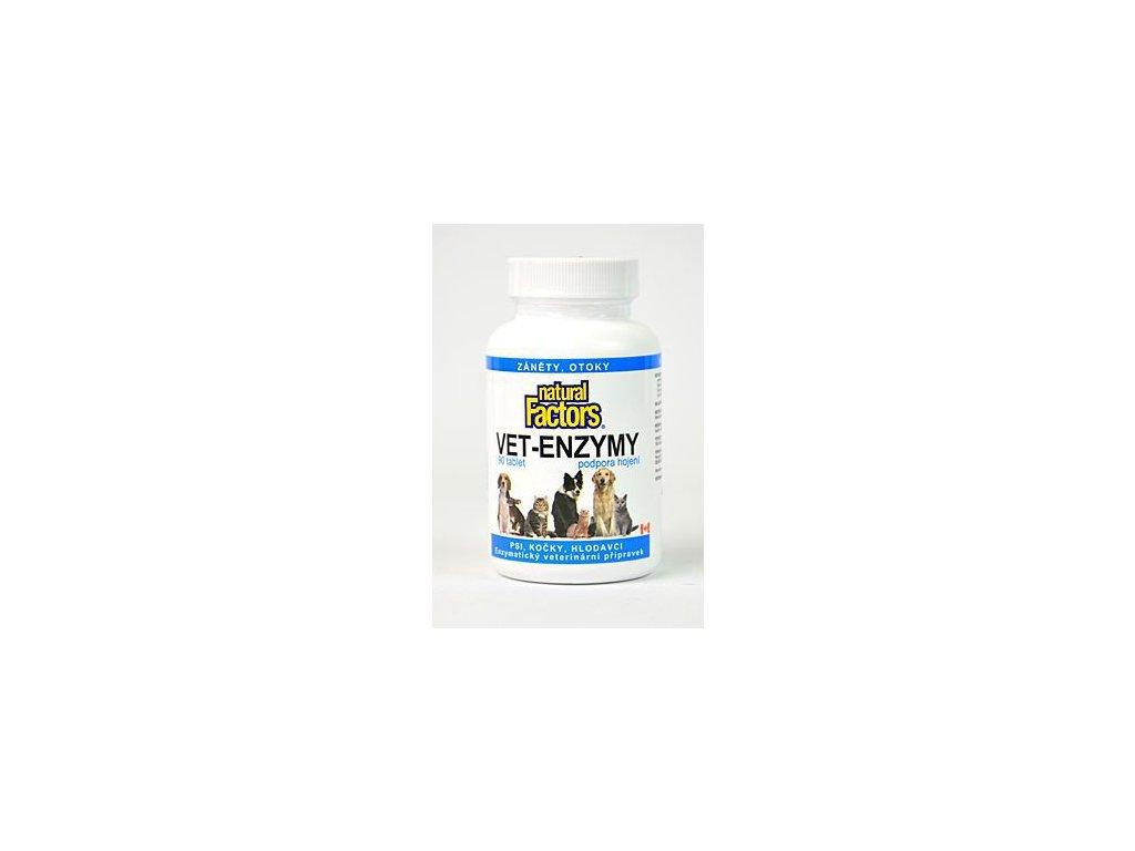 Vet Enzymy 90tablet podpora hojení, záněty, otoky