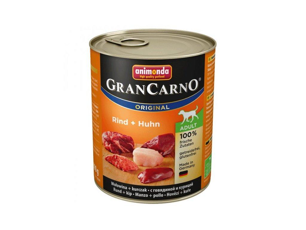 Animonda GranCarno Adult Hovězí + Kuře 800 g