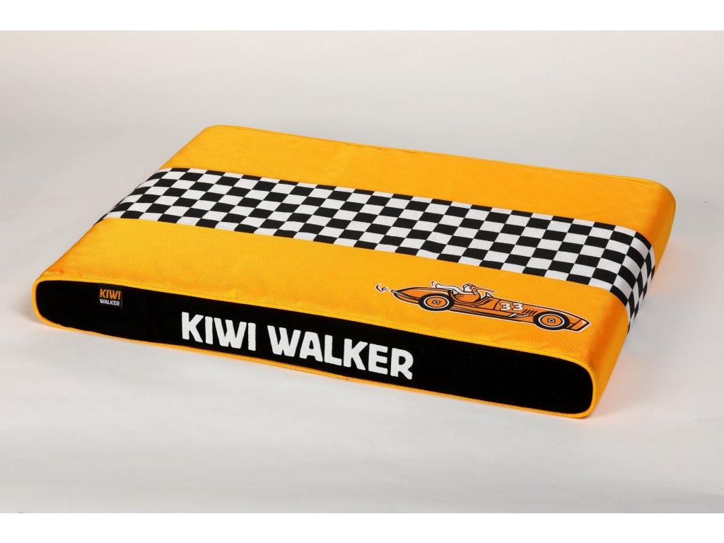 00049 RACING Cigar PET BED OrangeBlack WO