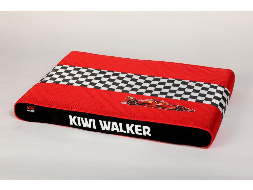 00062 RACING Formula PET BED RedBlack WO