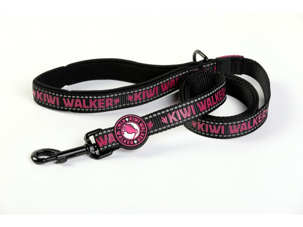 00166 DOG LEASH pink WO