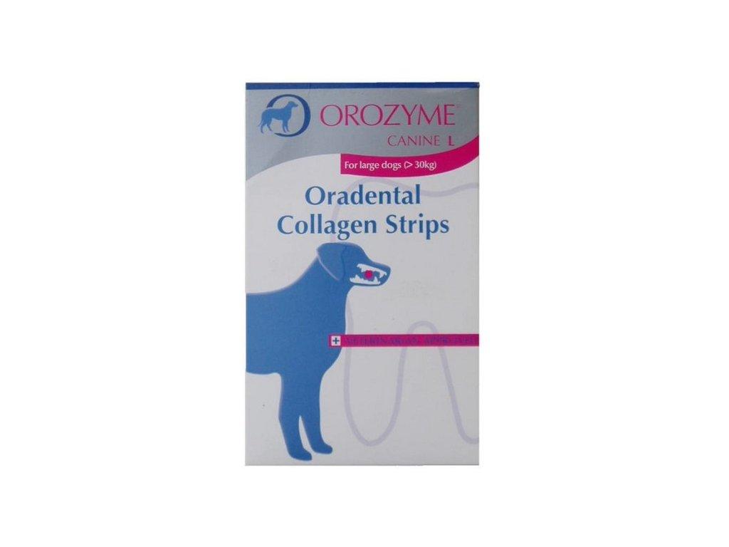 Orozyme enz. plátky žvýkací pro psy S