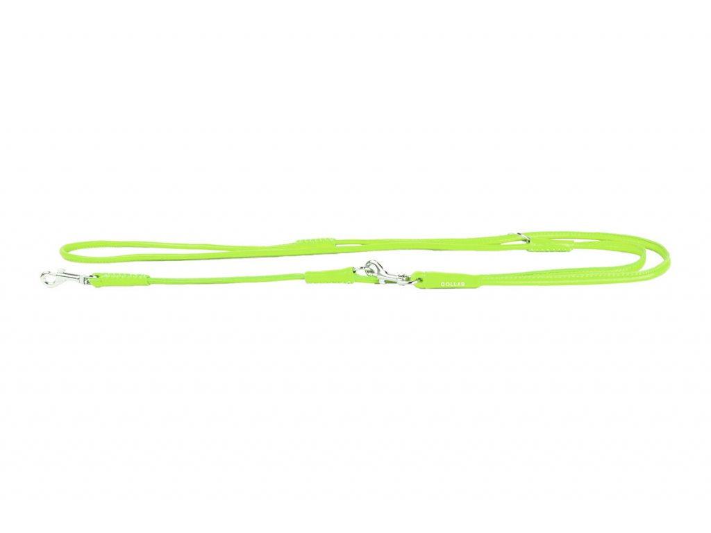 69320 collar soft kozene prepinaci voditko 6 mm limetkove