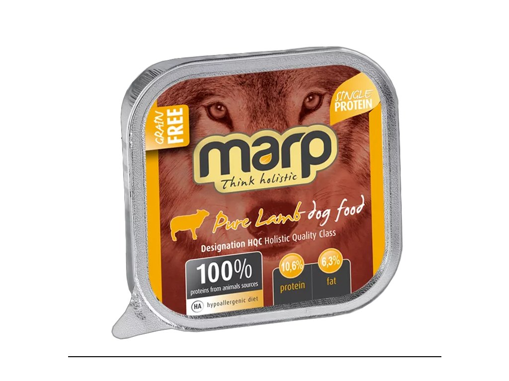 Marp Lamb vanička pro psy s jehněčím 100g