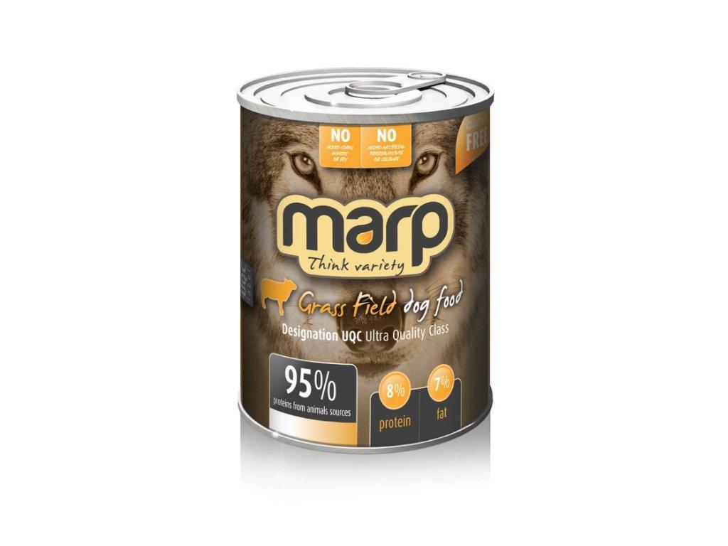 Marp Variety Grass Field konzerva pro psy 400g