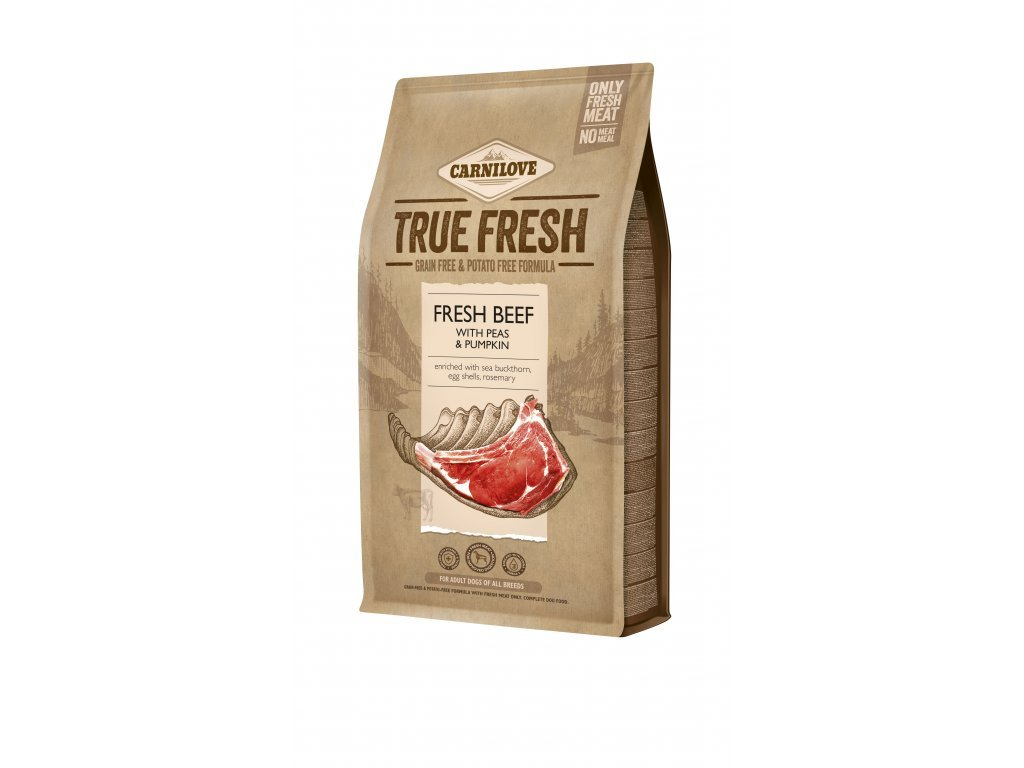 38427 carnilove true fresh beef for adult dogs 4 kg