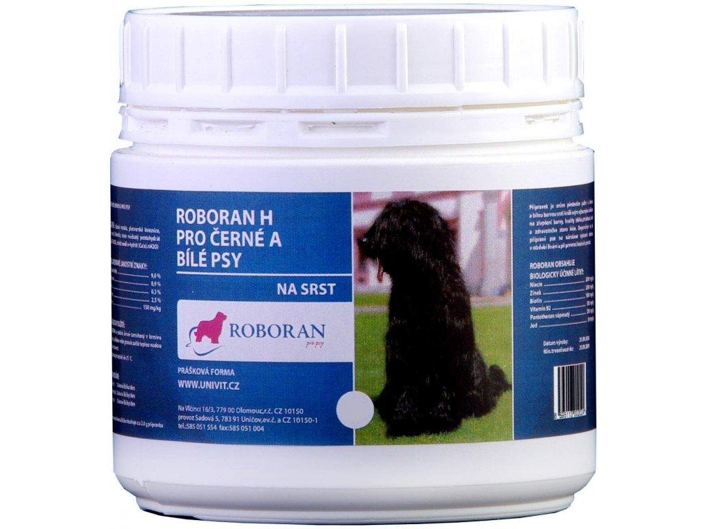 Roboran H pro černé a bílé psy 200 g