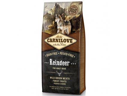 CARNILOVE Dog Reindeer for Adult