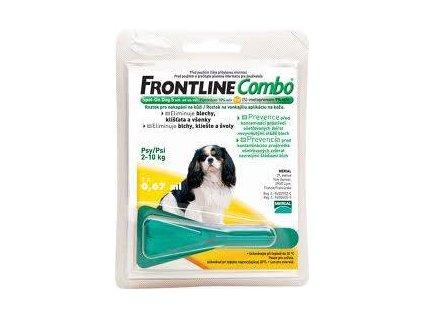 Frontline Combo Spot-on Dog S 0,67 ml