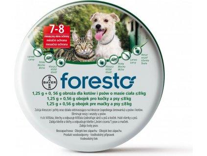 Bayer Foresto obojek 38 cm pro malé psy do 8kg