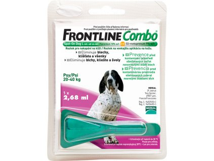 Frontline Combo Spot-on Dog L 2,68 ml