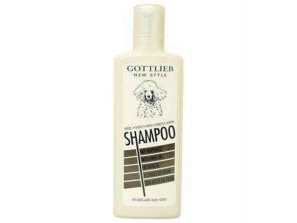 Gottlieb Pudel White šampon pro bílé pudly s norkovým olejem 300ml