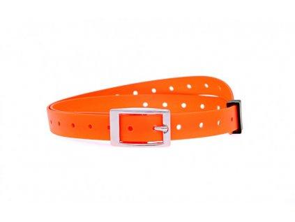 Plastový obojek oranžový, 15 mm x 50 cm