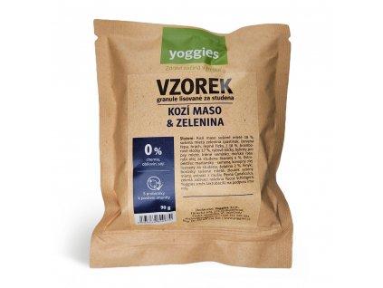 1 2kg hypoalergenni granule yoggies s kozim masem a br vlockami lisovane za studena s probiotiky