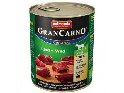 Animonda GranCarno Adult Hovězí + Zvěřina 800g