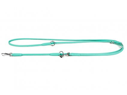 69326 collar soft kozene prepinaci voditko 6 mm mentolove