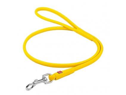 collar vodítko žluté