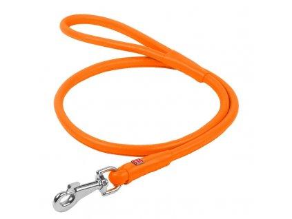 collar přepínací vodítko oranžové