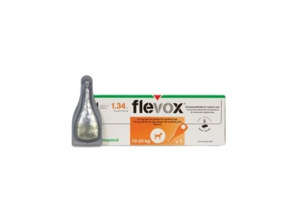 Flevox Spot on Dog M sol 1x1,34 ml