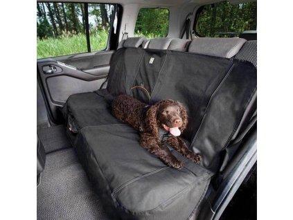 Ochranny prehoz na zadni sedadla Kurgo Wander Bench Seat Cover black 1902201902301323483