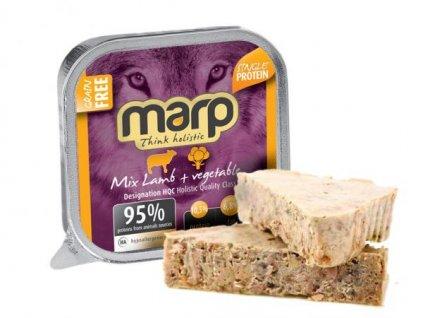 Marp MIX vanička pro psy jehně a zelenina 100 g