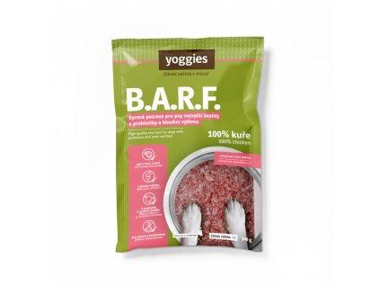 1717 yoggies b a r f 100 kure s probiotiky a kloubni vyzivou syrova potrava pro psy