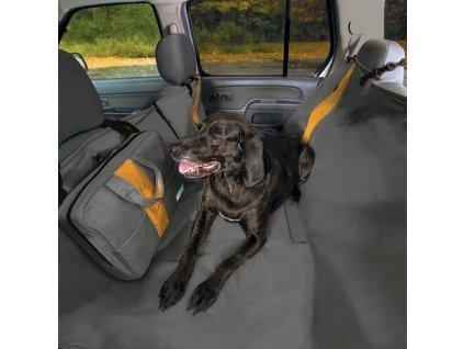 Ochranny potah na zadne sedadla Kurgo Wander Hammock typ hamaka charcoal 0605201916303839082