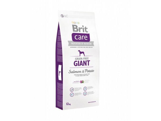 Brit Care Dog Giant Salmon&Potato GF