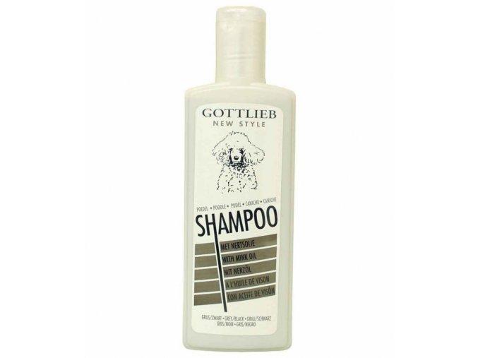 Gottlieb Pudel Black šampon pro černé pudly s norkovým olejem 300ml