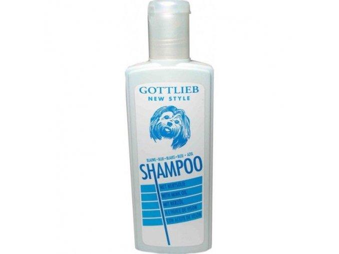 Gottlieb Blue vybělující šampon s makadamovým olejem 300ml