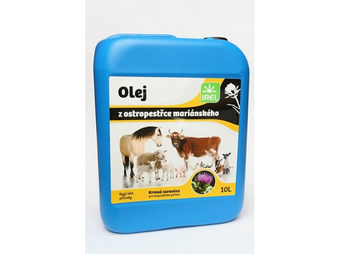 IREL Horse - Ostropestřcový olej pro koně 10 l