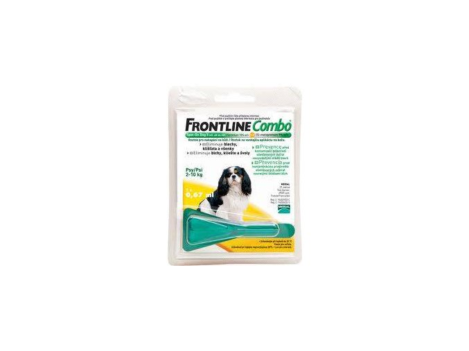Frontline Combo Spot-on Dog S 0,67 ml