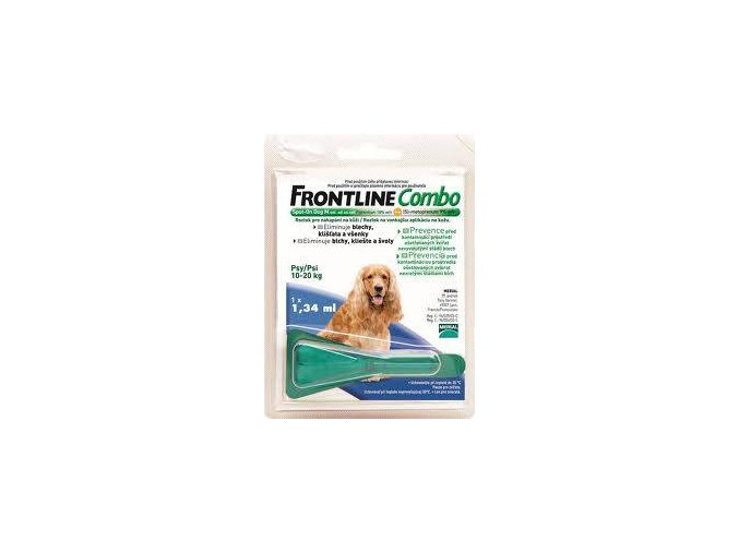 Frontline Combo Spot-on Dog M 1,34 ml