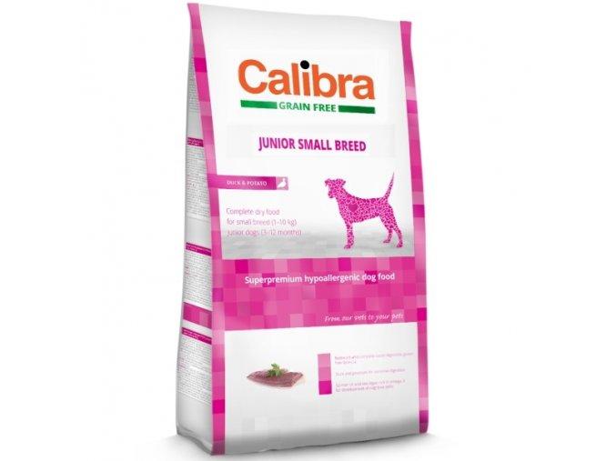 Calibra Dog GF Junior Small Breed Duck