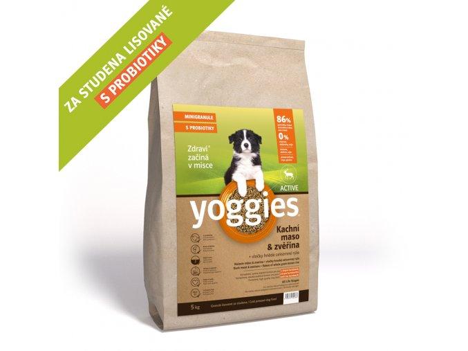 Yoggies MINI activ kachna a zvěřina