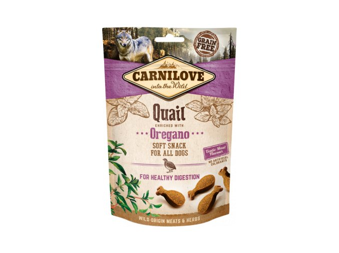 CARNILOVE Semi-Moist Quail with Oregano 200 g