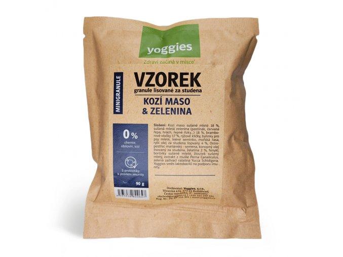 Yoggies MINI Hypoalergenní kozí maso a zelenina