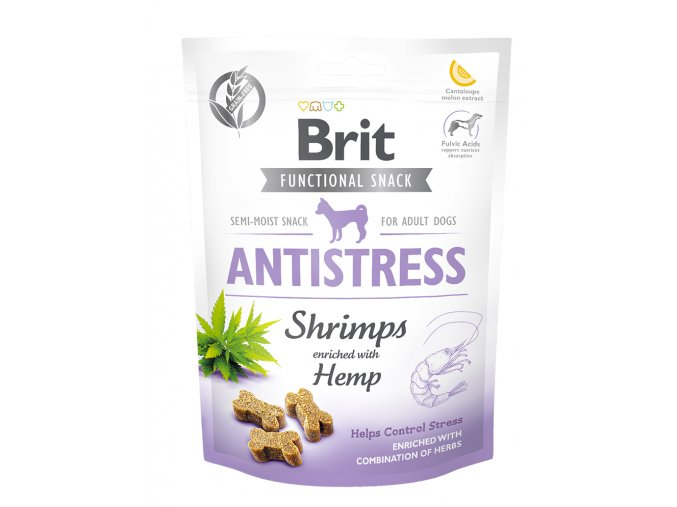 Brit Care Dog Functional Snack Antistress Shrimps 150 g