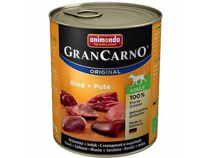 Animonda Grancarno Adult Hovězí + Krůta 800 g